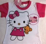 Kitty T-shirt with a bear