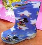 rubber boots, little Mikky