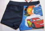 blue boxer swimming trunks