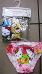 Kitty panties 3 pieces