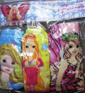 Barbie panties 3 pieces ― Maksimka - quality children's clothing.