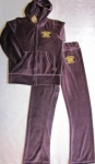 Juicy Couture velor sports suit