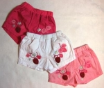 shorts with strawberry